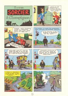 Extrait de Spirou et Fantasio -2e80- Il y a un sorcier à Champignac