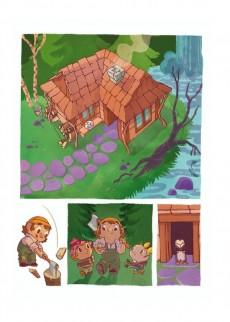 Extrait de Hansel et Gretel (Domecq) - Hansel et Gretel