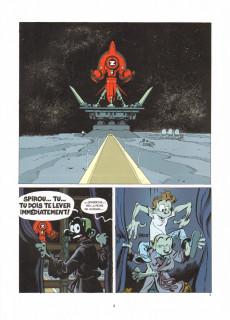 Extrait de Spirou et Fantasio -52bis- La face cachée du Z