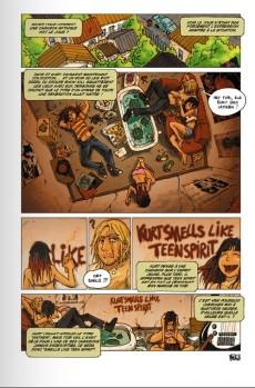Extrait de Nirvana en Bandes dessinées - Nirvana en bandes dessinées