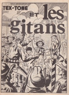 Extrait de Tex-Tone -337- Les gitans