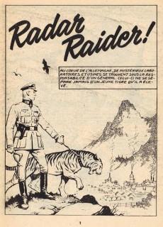 Extrait de Rapaces (Impéria) -343- Radar raider - Mission spéciale - Repaire dans le désert