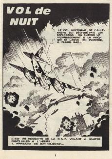 Extrait de Rapaces (Impéria) -350- Vol de nuit - Atterrissage forcé