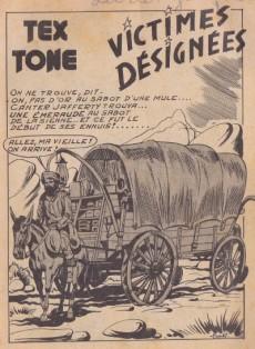 Extrait de Tex-Tone -49- Victimes désignées
