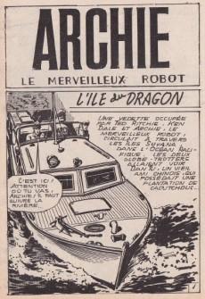 Extrait de Archie (Jeunesse et Vacances) -51- L'île du dragon