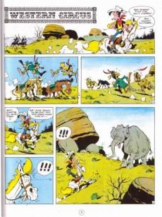 Extrait de Lucky Luke - La collection (Hachette 2011) -7- Western circus