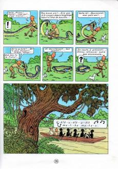 Extrait de Tintin (Historique) -2C3bis- Tintin au Congo
