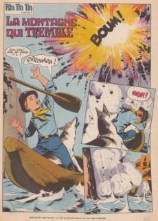 Extrait de Rin Tin Tin & Rusty (2e série) -1- La montagne qui tremble