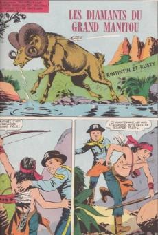 Extrait de Rin Tin Tin & Rusty (2e série) -44- Les diamants du grand Manitou