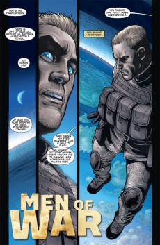 Extrait de Men of war Vol.2 (DC comics - 2011) -2- (sans titre)