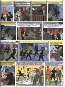 Extrait de Blake et Mortimer -5c00- Le Mystère de la Grande Pyramide - Tome 2
