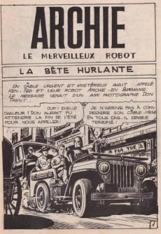 Extrait de Archie (Jeunesse et Vacances) -53- La bête hurlante