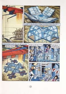 Extrait de Yoko Tsuno -8a1980- Les titans