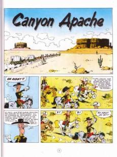 Extrait de Lucky Luke - La collection (Hachette 2011) -8- Canyon apache