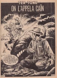 Extrait de Tex-Tone -469- On l'appela Caïn