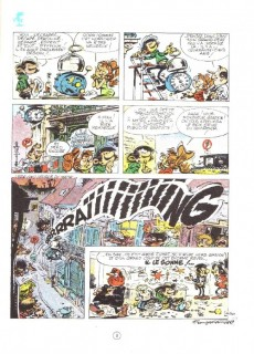 Extrait de Gaston -10a1974- Le géant de la gaffe
