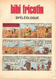 Extrait de Bibi Fricotin (2e Série - SPE) (Après-Guerre) -61a67- Bibi Fricotin spéléologue