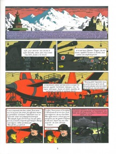 Extrait de Blake et Mortimer -1Pub- Le Secret de l'Espadon - Tome 1