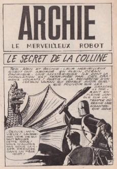 Extrait de Archie (Jeunesse et Vacances) -52- Le secret de la colline