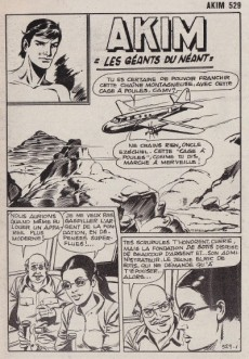 Extrait de Akim (1re série) -529- Les géants du néant