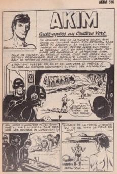 Extrait de Akim (1re série) -516- Guet-apens au Cratère Vert