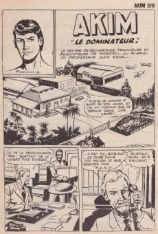 Extrait de Akim (1re série) -519- Le dominateur