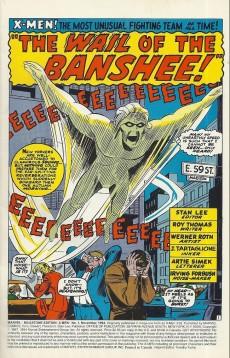 Extrait de Uncanny X-Men (The) (Marvel comics - 1963) -28MIL- Banshee
