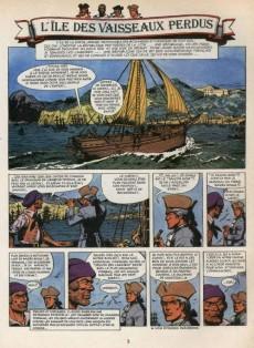 Extrait de Barbe-Rouge -19b1984- L'île des vaisseaux perdus