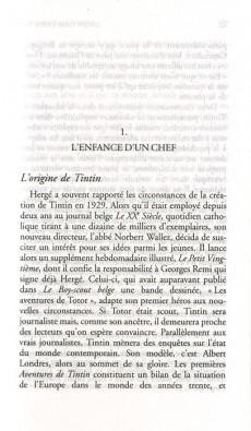 Extrait de Tintin - Divers -b- Les Métamorphoses de Tintin