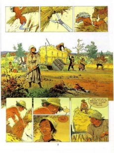 Extrait de Les tours de Bois-Maury -1a- Babette