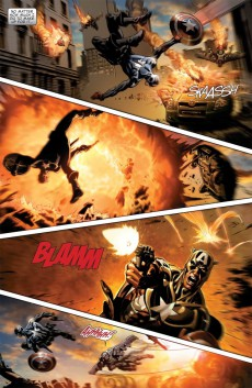 Extrait de Captain America (2005) -INT10- Road To Reborn