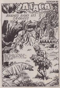Extrait de Yataca (Fils-du-Soleil) -203- Drames dans les savanes