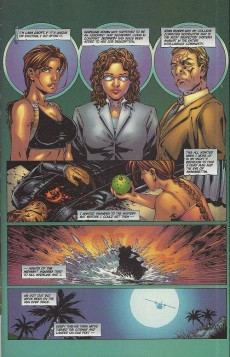Extrait de Tomb Raider: The Series (1999) -9a- Dead Center (3) (Michael Turner cover)