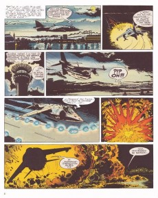 Extrait de Tanguy et Laverdure -15- Les Vampires attaquent la nuit