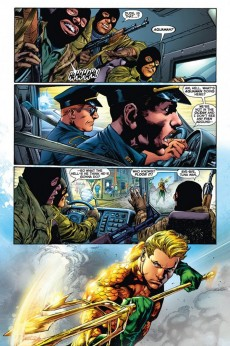 Extrait de Aquaman (2011) -1- The trench (Part 1)
