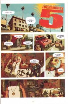 Extrait de Lucha Libre (2007) -1- Introducing: The Luchadores Five