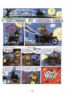 Extrait de Natacha -7a1989- L'hôtesse et Monna Lisa