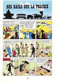 Extrait de Lucky Luke -9c90- Des rails sur la prairie