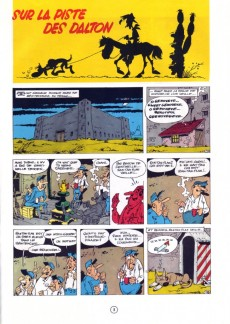 Extrait de Lucky Luke -17c87- Sur la piste des Dalton