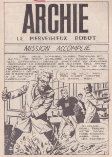 Extrait de Archie (Jeunesse et Vacances) -48- Mission accomplie