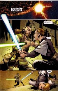 Extrait de Star Wars: Jedi - The Dark Side (2011) -TPB1- Volume 1: the dark side