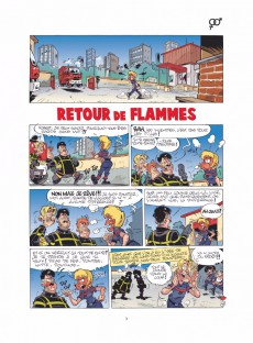 Extrait de Les pompiers -11- Flammes au volant