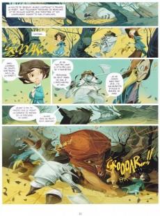 Extrait de Le magicien d'Oz (Chauvel/Fernández) -1a- Volume 1