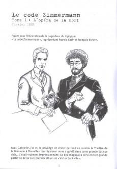 Extrait de Victor Sackville -HS1- 20th comic book
