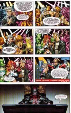 Extrait de Deadpool (Marvel France 2e série - 2011) -6- L'enfer du jeu