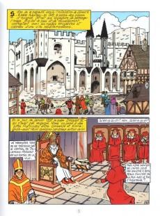 Extrait de Tristan Queceluila (Les Aventures de) -9- Le pape français