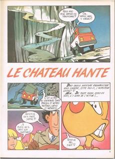 Extrait de Inspecteur Gadget (1re série - Greantori) -6- Le château hanté