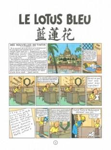 Extrait de Tintin (Historique) -5C3ter- Le Lotus Bleu