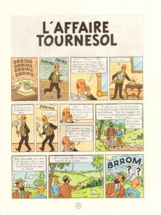 Extrait de Tintin (Historique) -18C4- L'affaire Tournesol