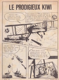 Extrait de Kamikaze (Arédit) -1- Le prodigieux kiwi